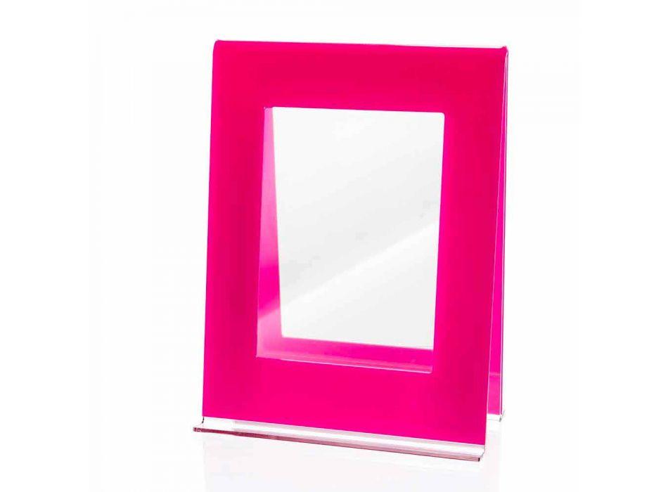 2 Multiple Table Photo Frame in Colored Plexiglass Italian Design - Tarino