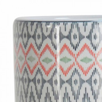 2 Porcelain Umbrella Stand Decorated with Homemotion Decal - Nando
