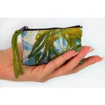 3 Hand-Printed Cotton Clutches in Unique Pieces - Viadurini by Marchi