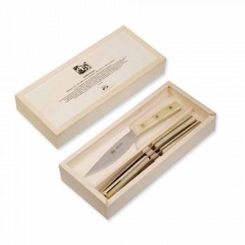 4 Berti Valdichiana Table Knives exclusively for Viadurini - Albiolo