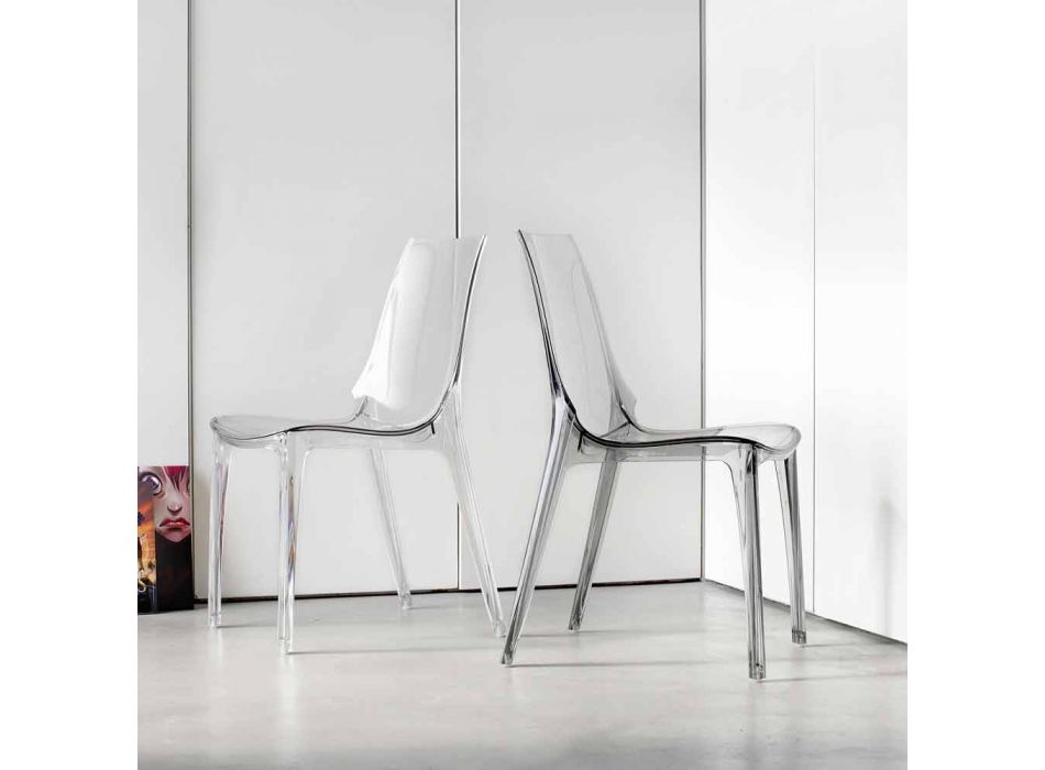 4 Outdoor Design Chairs in Polycarbonate Made in Italy - Scab Design Vanity