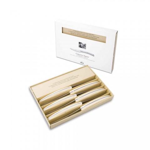6 Convivio Nuovo Berti table knives exclusively for Viadurini - Alonte