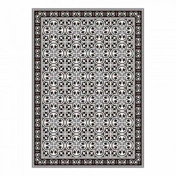 6 American Patterned Placemats in PVC and Washable Polyester - Lindia