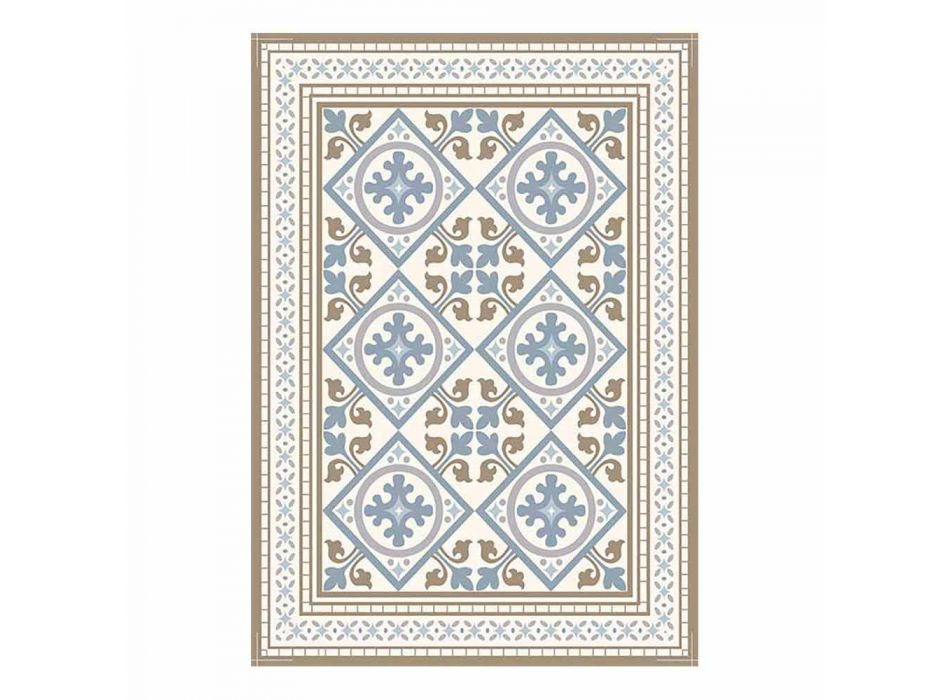 6 Elegant American Table Placemats in Pvc and Polyester - Leno