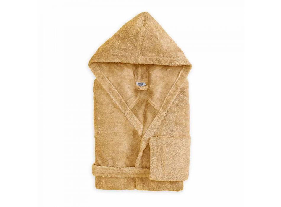 Colorful Bathrobe with Luxury Hood in Cotton Terry - Vuitton