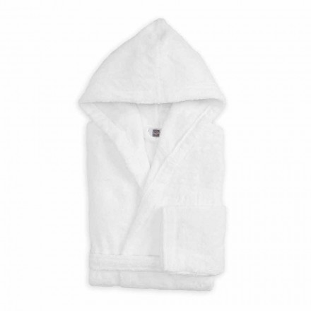 Luxury Colored Bathrobe with Hood in Terry Cotton - Vuitton