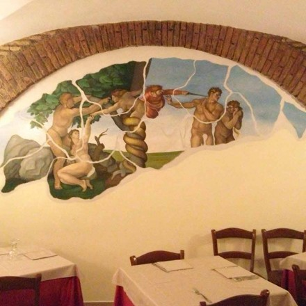 Custom-made frescoes and paintings