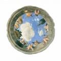 Ceiling Oculus fresco by Andrea Mantegna