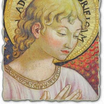 "Fresco Benozzo Gozzoli ""Choirs of Angels in Adoration"""