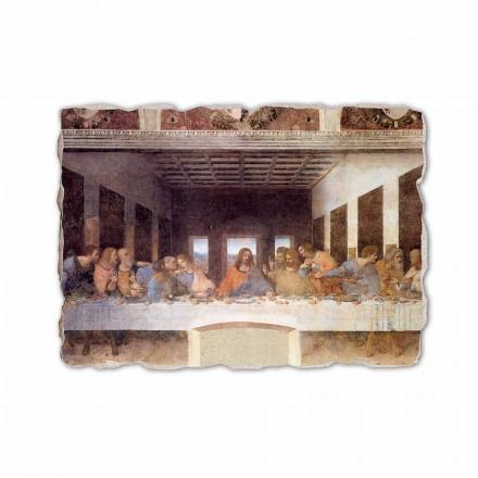 The Last Supper by Leonardo da Vinci, hand-painted fresco