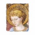 Adoring and singing Angels fresco by Benozzo Gozzoli