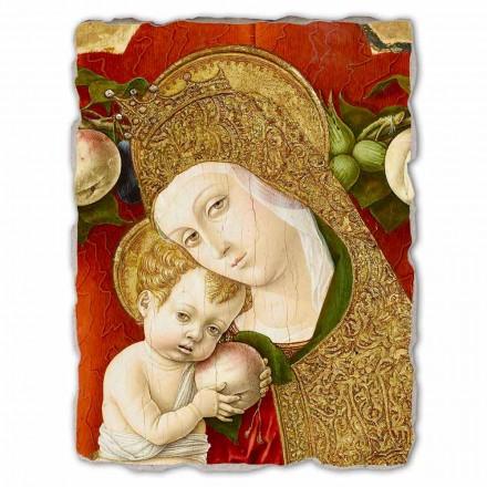 Madonna Lochis, fresco by Carlo Crivelli, big size