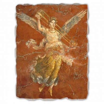 Muse Cycle (detail), Roman fresco, big size