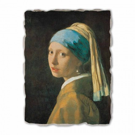 Girl with a Pearl Earring by Johannes Vermeer, big size
