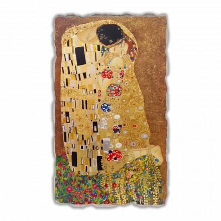 The Kiss by Gustav Klimt, big size