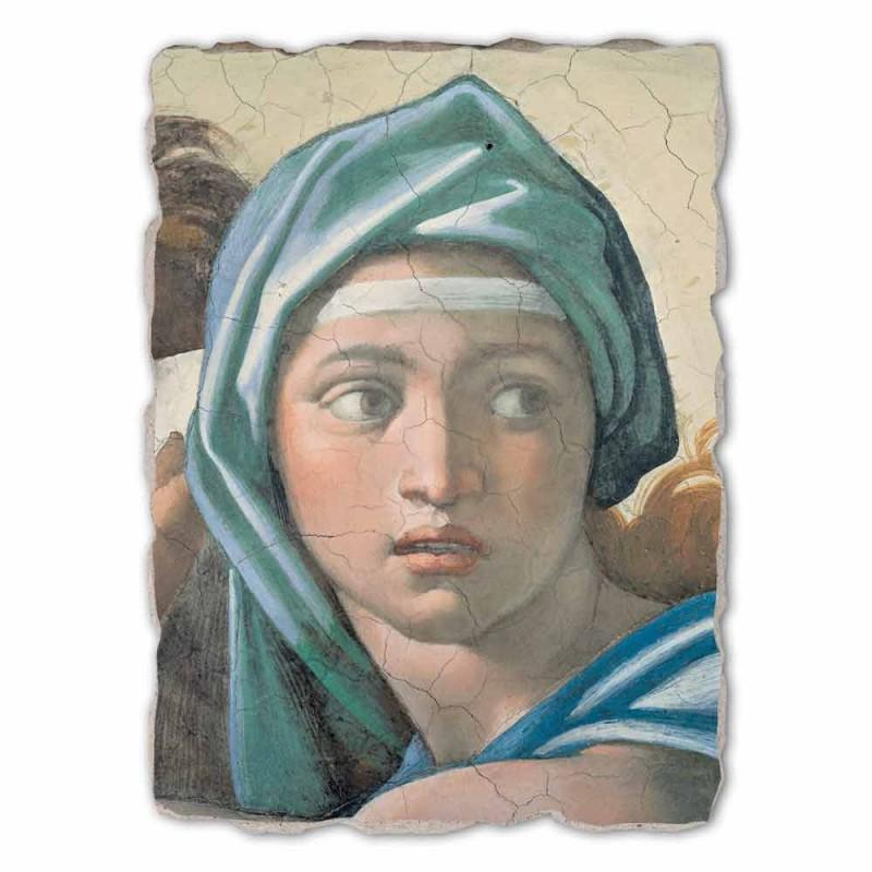 "large fresco done in Italy Michelangelo ""Delphic Sibyl"""