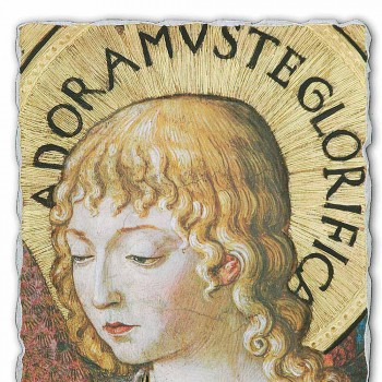 """large fresco Gozzoli """"Choirs of Angels in Adoration"""" -1454"""