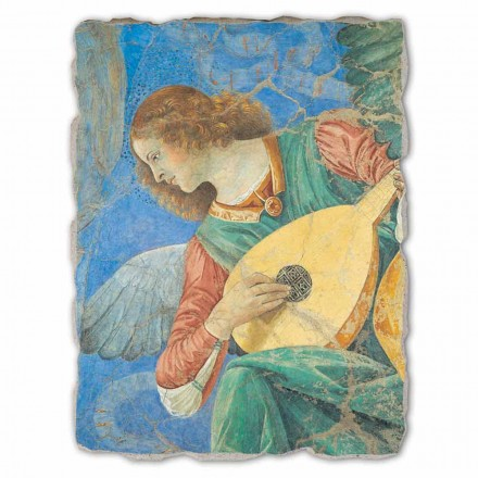 Musician Angels fresco by Melozzo da Forlì,  big size