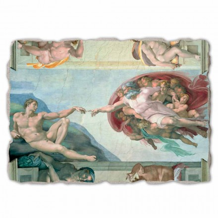 The Creation of Adam by Michelangelo,  big size