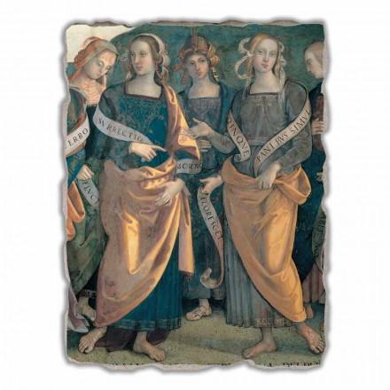 Eterno tra Angeli, Profeti e Sibille  fresco, big size