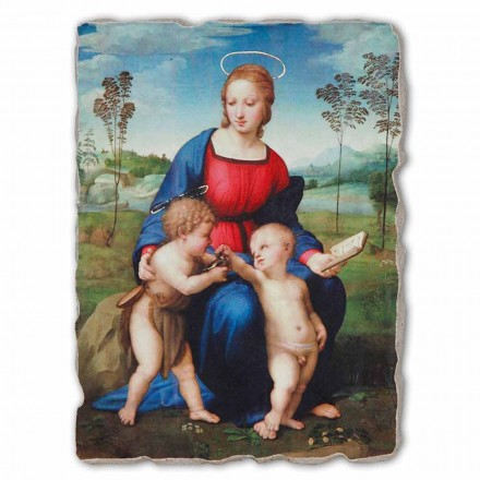 Madonna of the Goldfinch by Rapahel, big size