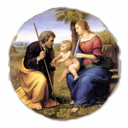 The Holy Family with a Palm Tree by Raphael, big size
