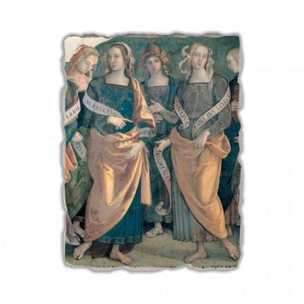 Eterno tra Angeli, Profeti e Sibille  fresco (detail)