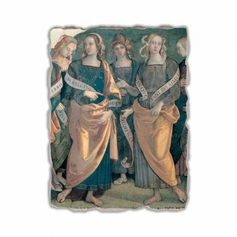 "Perugino fresco ""Lord of the Angels, Prophets and Sibyls"" part."