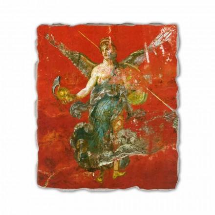 Muse Cycle (detail), Roman fresco