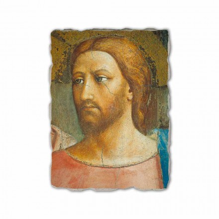 The Tribute Money by Masaccio, hand-painted fresco