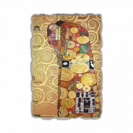 Fulfillment (The Embrace) by Gustav Klimt