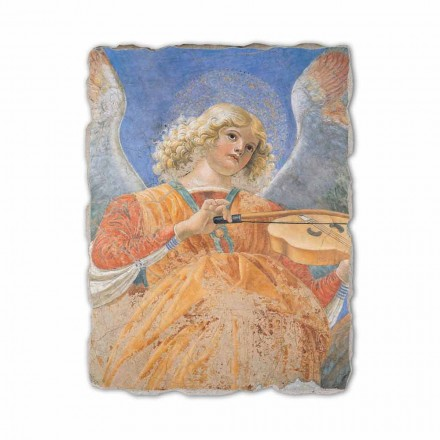 Musician Angels by Melozzo da Forlì, hand-painted fresco