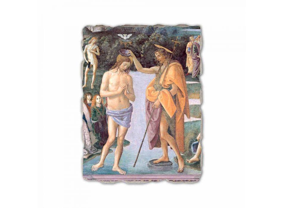 """Perugino fresco reproduction """"Baptism of Christ"""""""