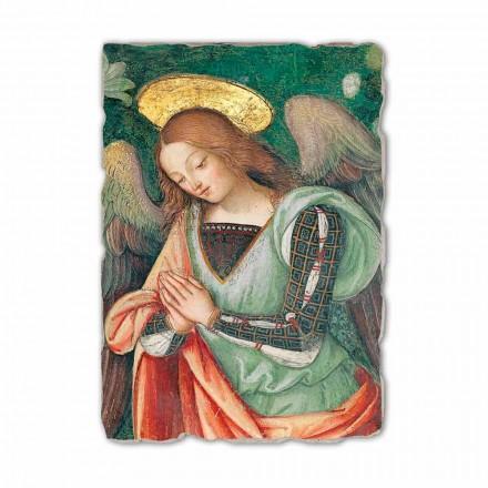 Nativity (detail of the Angel) fresco by Pinturicchio