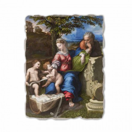 The Holy Family of the Oak Tree by Raphael, made in Italy