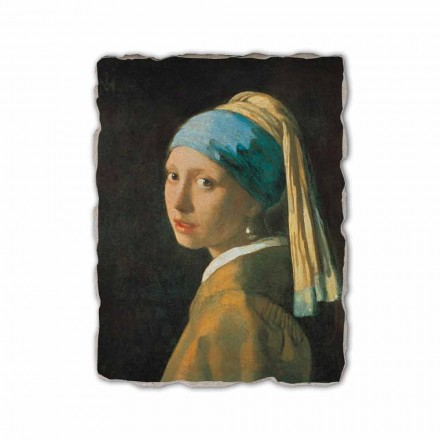 Girl with a Pearl Earring by Johannes Vermeer, made in Italy