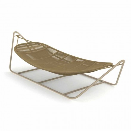 Garden Hammock in Aluminum and Fabric - Panama by Talenti