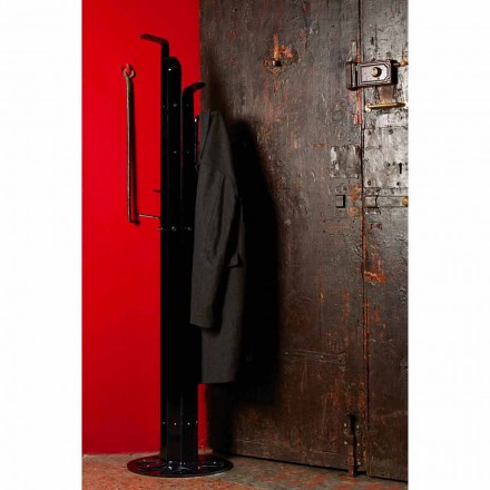 Modern design coat stand Hilarius, made of methacrylate, 8 mm thick