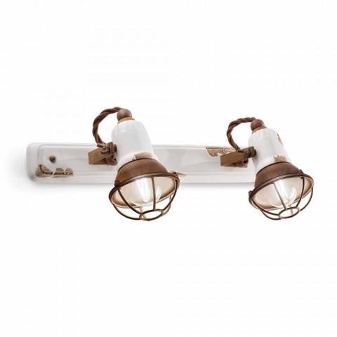 Applique two spotlights Amelia Ferroluce craft