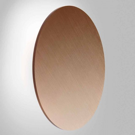 Modern Wall Lamp in Black, White, Gold or Rose Gold Metal - Smania