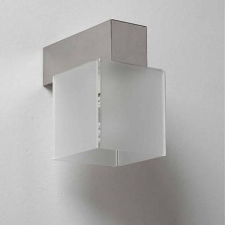 Modern design wall sconce Matis with modern shade, 11x11 cm