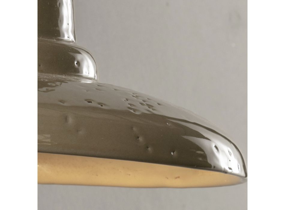 Artisan Outdoor Wall Lamp in Galestro Made in Italy - Toscot Spoleto