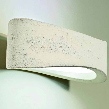 Design outdoor wall lamp in clay H 120, Nina – Toscot