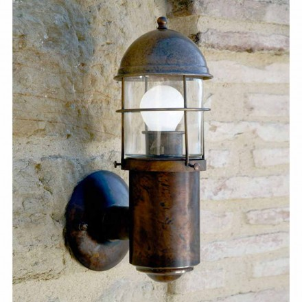 Outdoor designer wall sconce Attila by Aldo Bernardi