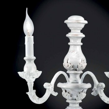 White 2-color painted white design wall light Lira