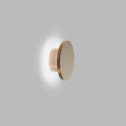 Design Wall Light in Black, White, Gold or Rose Gold Metal - Smania