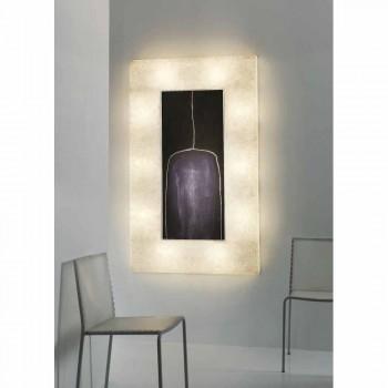 Modern design wall light In-es.artdesign Lunar Bottle 2 in nebulite