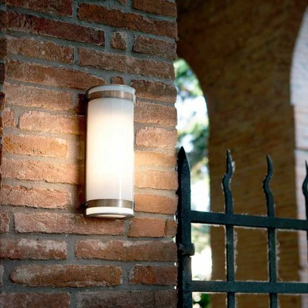 Modern brass and methacrylate wall sconce Hanny