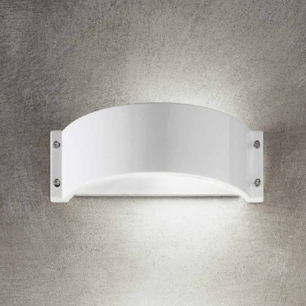 Modern wall sconce made of white gres Glamour