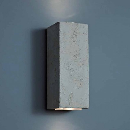 LED design outdoor wall lamp in clay high 24cm Smith – Toscot